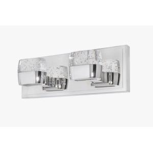 "Volt - 14"" 12W 4 LED Square Bath Vanity"