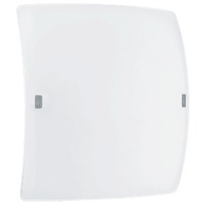 Eglo Lighting-91852A-Borgo 2 - LED Ceiling Lamp  Matte Nickel Finish with Satin White Glass