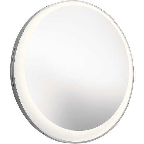 Elan Lighting 84077 30 1 Led Offset Round Lighted Mirror