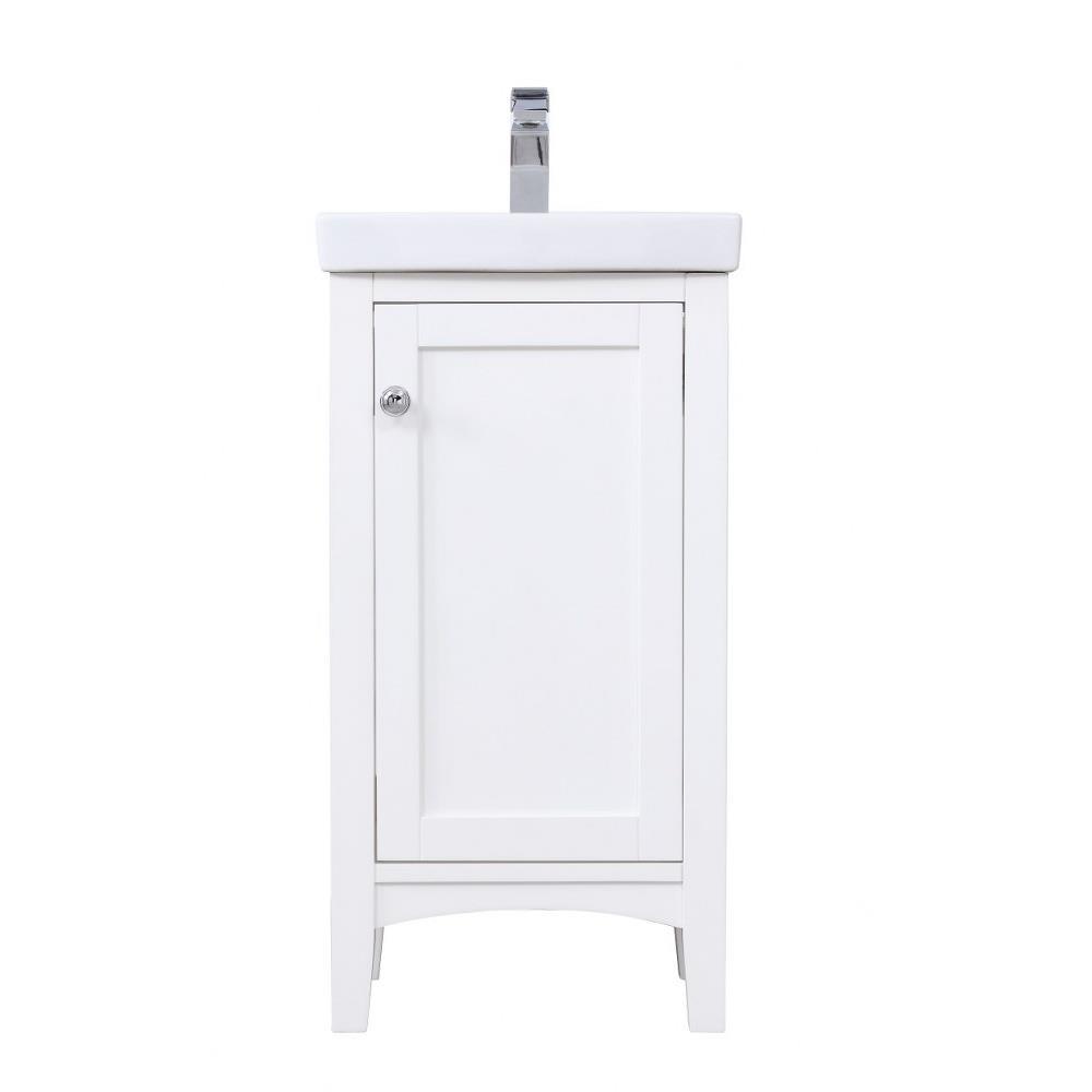 Elegant Decor Vf2318 Mod 18 Inch Single Bathroom Vanity Set