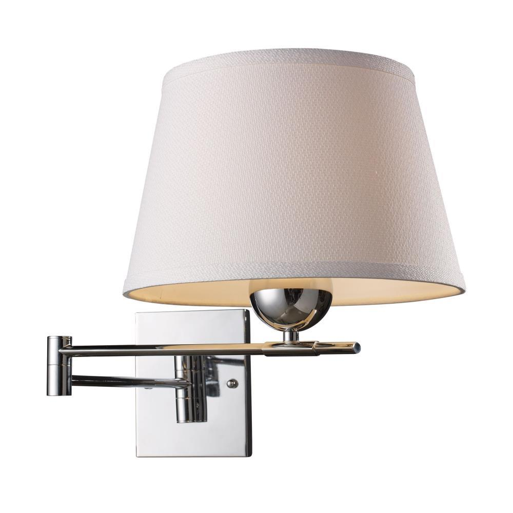 Lanza One Light Swing Arm Wall Sconce