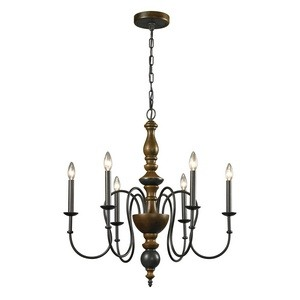 Elk Lighting - 14186/6 - French Country - Six Light Chandelier