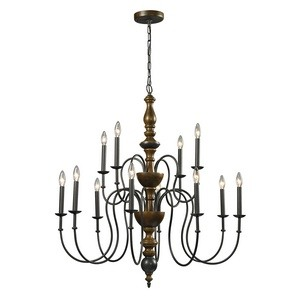Elk Lighting - 14187/8+4 - French Country - Twelve Light Chandelier
