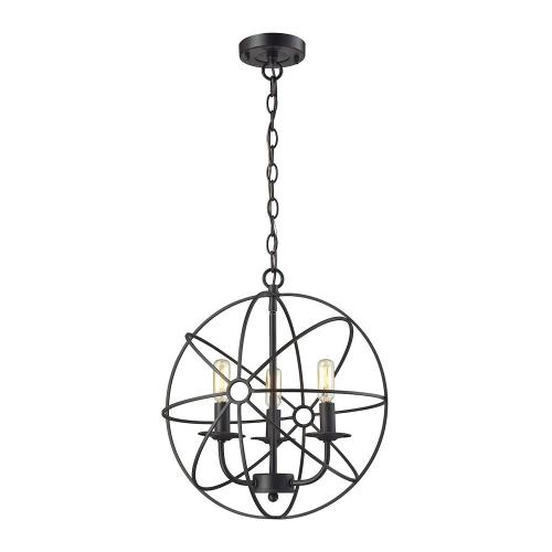 Elk Lighting Yardley: Three Light Pendant