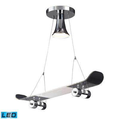 Elk Lighting 5112/1 Novelty - One Light Skateboard Pendant