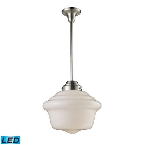 Elk Lighting Schoolhouse Pendant: One Light Pendant