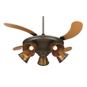 "Air Shadow - 18"" Traditional Ceiling Fan"