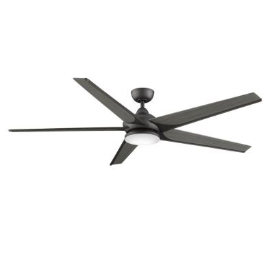 Fanimation fans fpd6236gr subtle 72 ceiling fan with light kit fanimation fans fpd6236gr subtle 72quot ceiling fan with mozeypictures Images