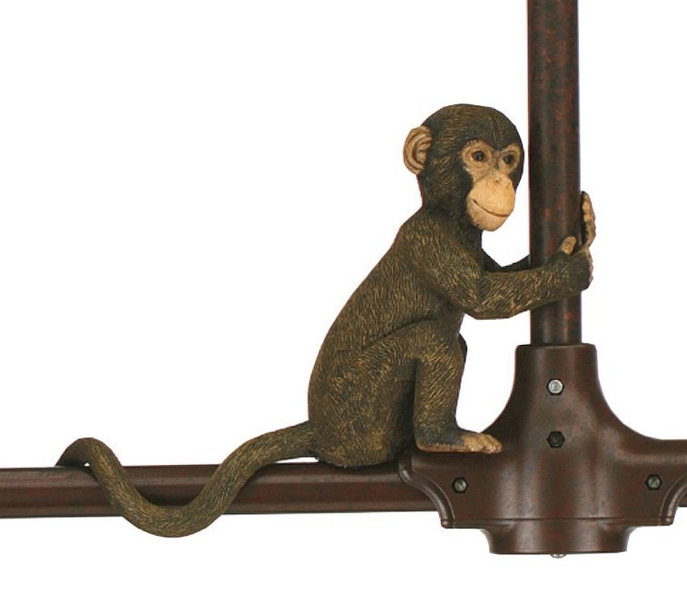 Fanimation Fans-P48-Accessory - Palisade Sculptured Monkey  Monkey Brown Finish