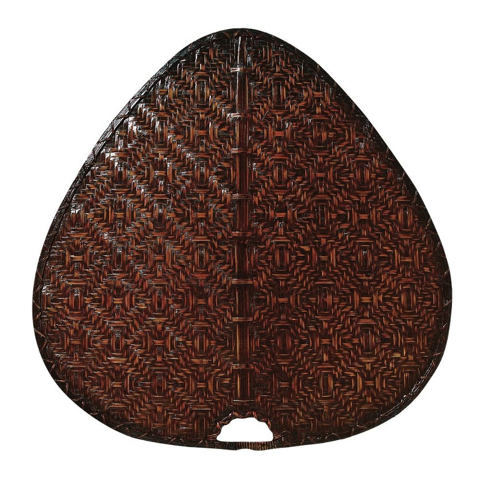 Fanimation Fans-PAD1A-Accessory - 8 - 22 Inch Palisade Wide Oval Bamboo Blades  Antique Woven Bamboo Finish