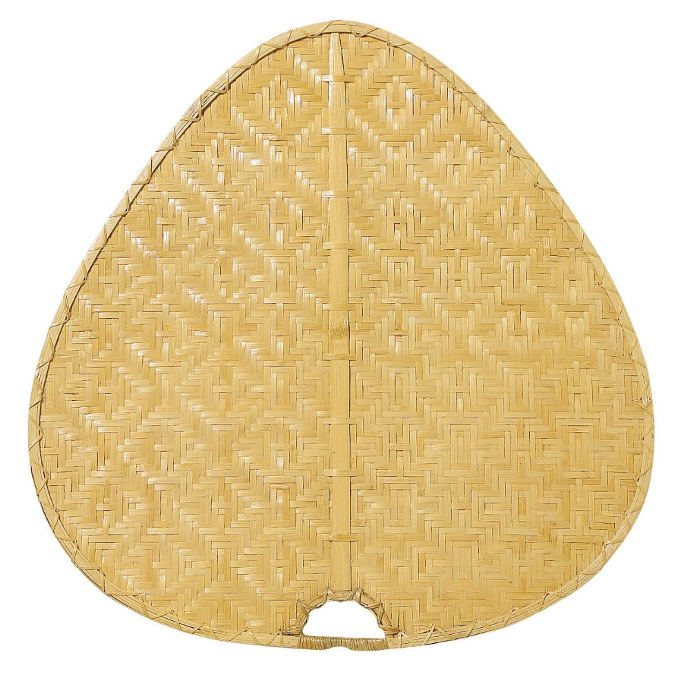 Fanimation Fans-PAD1C-Accessory - 8 - 22 Inch Palisade Wide Oval Bamboo Blades  Clear Woven Bamboo Finish