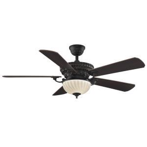 "Ventana - 52"" Ceiling Fan with Light Kit"