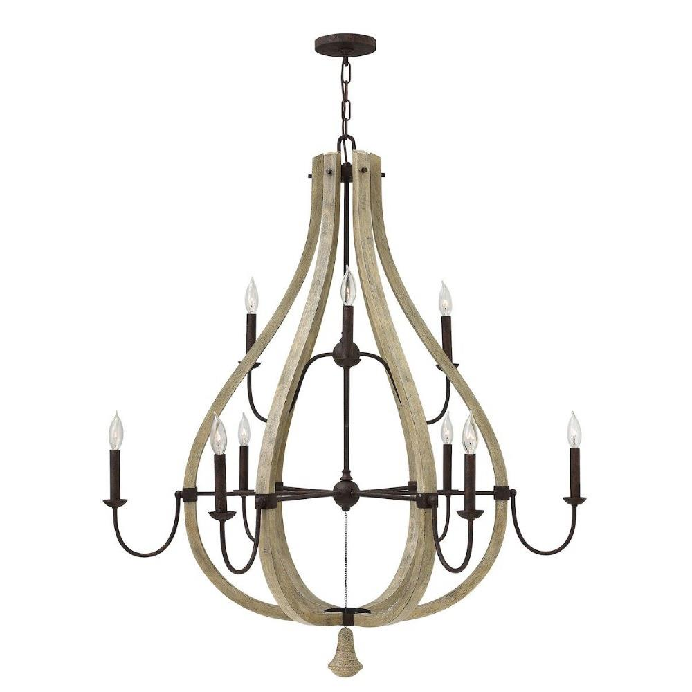Middlefield Nine Light 2 Tier Chandelier