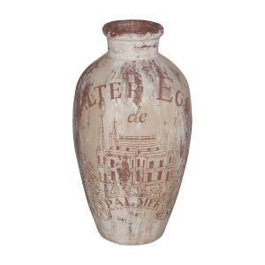 "Wine Country Urn II - 20"" Vase/Urn"