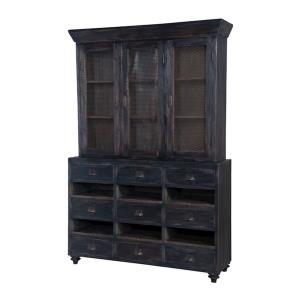 "European Farmhouse - 78"" Display Cabinet"