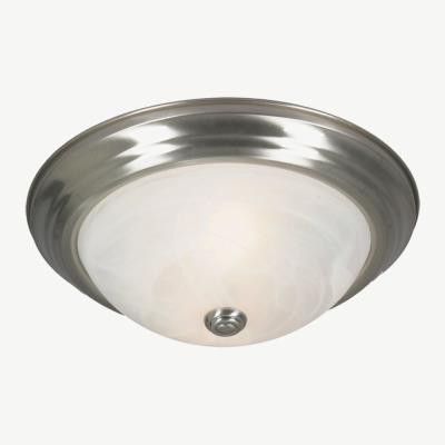 Golden Lighting 1260-13 Two Light Flush Mount