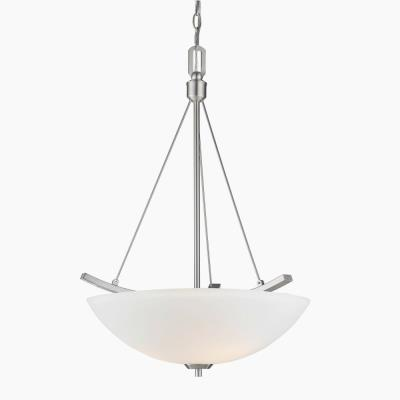 Golden Lighting 7158-3P Accurian - Three Light Bowl Pendant