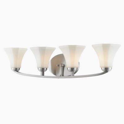 Golden Lighting 7158-BA4 Accurian - Four Light Bath Vanity