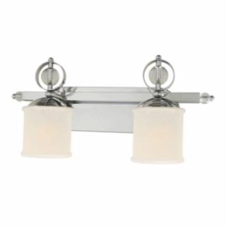 Golden Lighting 1030-BA2 CH Cerchi - Two Light Vanity