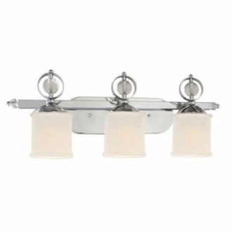 Golden Lighting 1030-BA3 CH Cerchi - Three Light Vanity