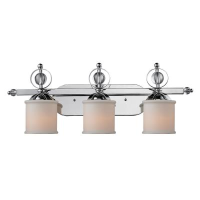 Golden Lighting 1030-BA3 CH Cerchi - Three Light Vanity