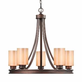 Golden Lighting 1051-5 SBZ Hidalgo - Five Light Chandelier