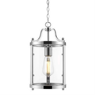 Golden Lighting 1157-M1L CH Payton - One Light Mini Pendant