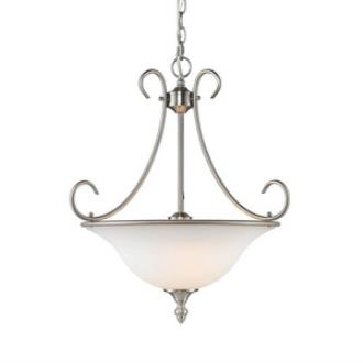 Golden Lighting 1393 PW-OP Centennial - Three Light Bowl Pendant