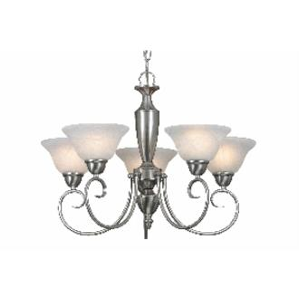 Golden Lighting 1395 PW 5 Light Chandelier