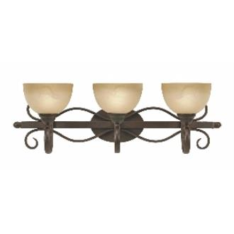 Golden Lighting 1567-BA3 PC Riverton - 3 Light Bath Fixture