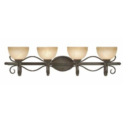 Golden Lighting 1567-BA4 PC Riverton - 4 Light Bath Fixture
