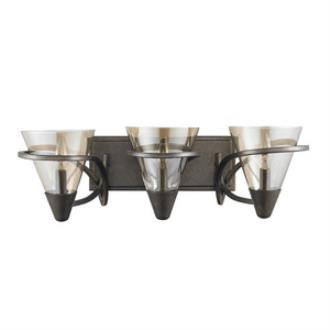 Golden Lighting 1648-BA3 BUS Olympia - Three Light Bath Vanity