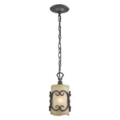 Golden Lighting 1821-M1L BI Madera - One Light Mini-Pendant