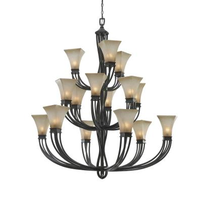 Golden Lighting 1850-15L RT Genesis - Fifteen Light Chandelier