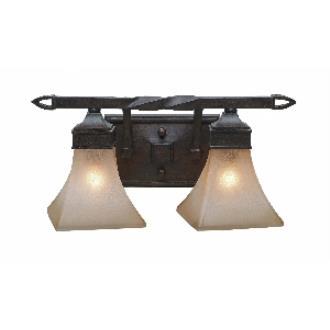 Golden Lighting 1850-BA2 RT Genesis -  Two Light Vanity