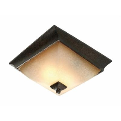 Golden Lighting 1850-FM RT Genesis -  Flush Mount