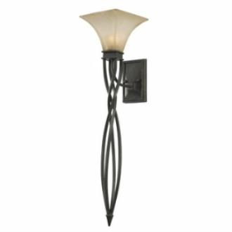 Golden Lighting 1850-WT1 RT Genesis - One Light Wall Torchiere
