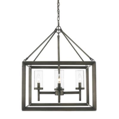 Golden Lighting 2073-4 GMT Smyth - Four Light Chandelier