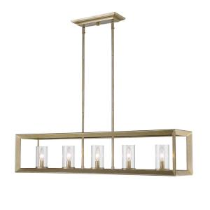 Smyth WG - Five Light Linear Pendant