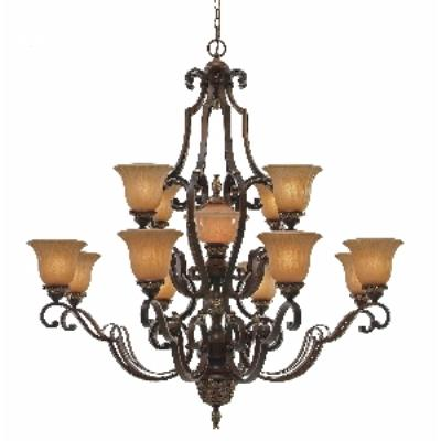 Golden Lighting 2501-13L NWB 13 Light Chandelier