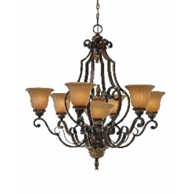 Golden Lighting 2501-7 NWB 7 Light Chandelier