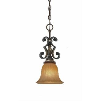 Golden Lighting 2501-M1L NWB Mini Pendant