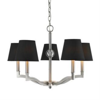 Golden Lighting 3500-5 Waverly - Five Light Chandelier
