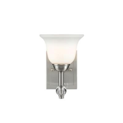 Golden Lighting 3500-BA1 PW Waverly - One Light Bath Vanity
