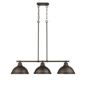 Duncan - Three Light Linear Pendant