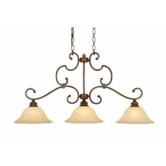Golden Lighting 3711-10 CB Island Light