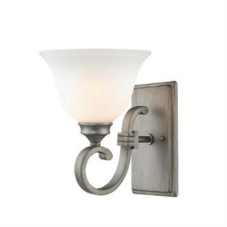 Golden Lighting 3711-1W PS Rockefeller - One Light Wall Sconce