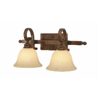 Golden Lighting 3711-BA2 CB 2 Light Vanity