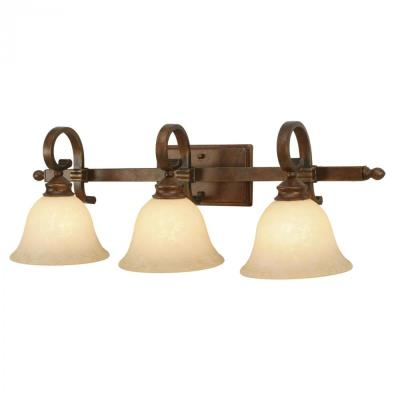 Golden Lighting 3711-BA3 CB 3 Light Vanity