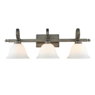 Golden Lighting 3711-BA3 PS Rockefeller - Three Light Bath Vanity